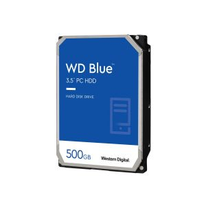 WD Blue - hard drive - 500 GB - SATA 6Gb/s