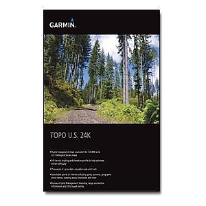 Garmin TOPO U.S. 24K - Mountain North - maps