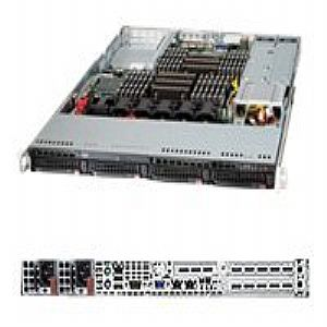 Supermicro SuperServer 6017R-N3RFT+ - no CPU - 0