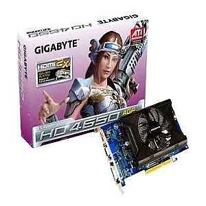 GIGABYTE VIDEO CARD ATI RADEON HD4650 AGP 8X 1GB G