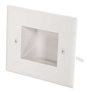 C2G Single Gang Easy Mount Recessed Low Voltage