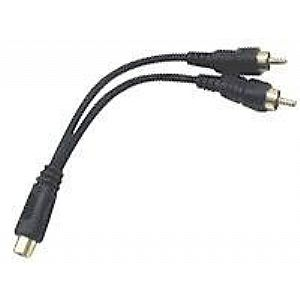 Hosa YRA 105 - audio cable - 6 in