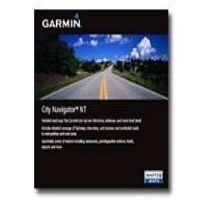 Garmin City Navigator Southeast Asia NT - maps