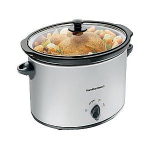 Hamilton Beach 7 Quart Oval Slow Cooker (33176)