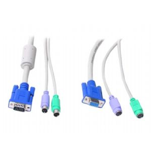 StarTech.com 10 ft 3-in-1 PS/2 KVM Extension Cable