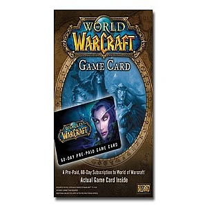 World of Warcraft Prepaid Card - license