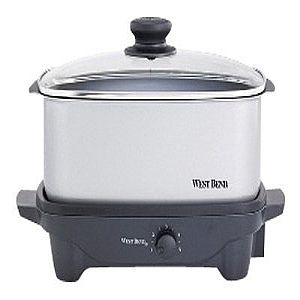 West Bend 5 Qt. Oblong Slow Cooker (84905) - slow