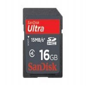 SanDisk Ultra - flash memory card - 16 GB - SD