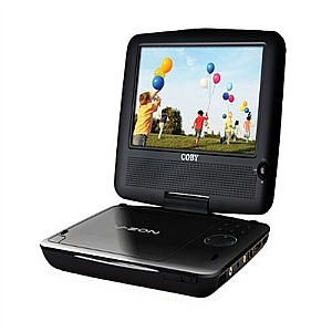 "7"" Portable DVD/CD/MP3 Player"