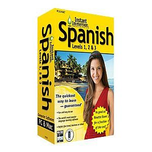 Instant Immersion Spanish Levels 1, 2 &amp; 3