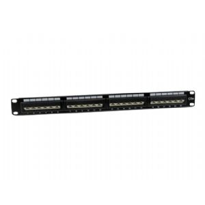 StarTech.com 24 Port 1U Rack Mount Cat5e 110 Patch