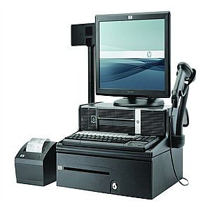 HP Point of Sale System rp3000 - Atom 230 1.6 GHz