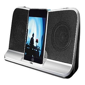 Cyber Acoustics CA-492 - speaker dock - with Apple