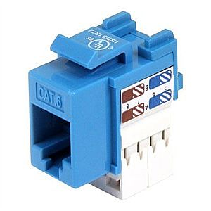 StarTech.com Cat 6 RJ45 Keystone Jack - modular