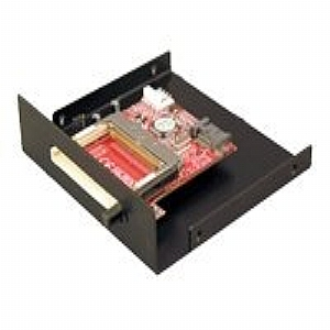 Addonics SATA to CF Adapter - card reader - Serial