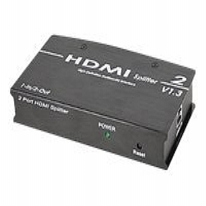 SIIG 1x2 HDMI Splitter - video/audio splitter - 2
