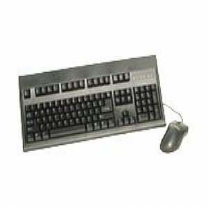 KeyTronic E03601P2M - keyboard and mouse set