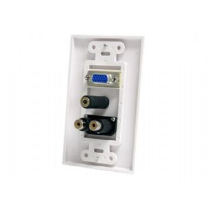 StarTech.com 15-Pin Female VGA Wall Plate with