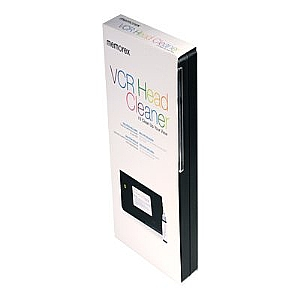Memorex VCR Head Cleaner cleaning VHS tape