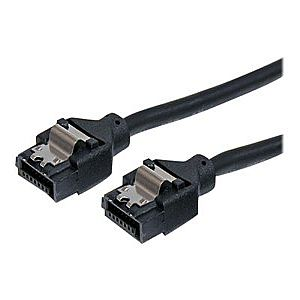 StarTech.com Latching Round SATA Cable - SATA