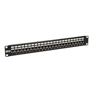 Tripp Lite N254-024-SH - patch panel - 1U