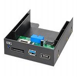 SIIG USB 3.0 Internal Bay Multi Card Reader/eSATA