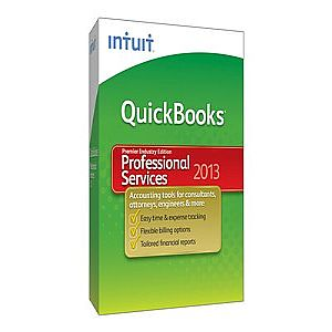 QuickBooks Premier Professional Services Edition