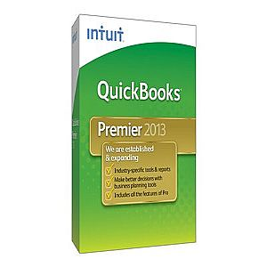 QuickBooks Premier 2013 - complete package