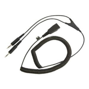 Jabra headset cable - 6.6 ft