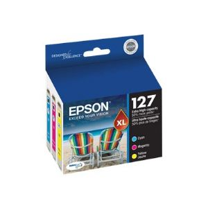 Epson 127 Multi-Pack - color (cyan, magenta,