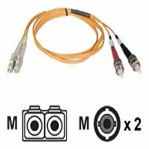 5M DUPLEX MMF CABLE LC/ST