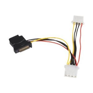 StarTech.com SATA to LP4 Power Cable Adapter with