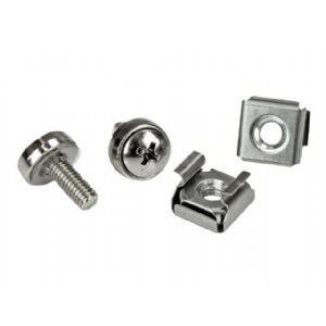 StarTech.com M5 Mounting Screws and Cage Nuts for