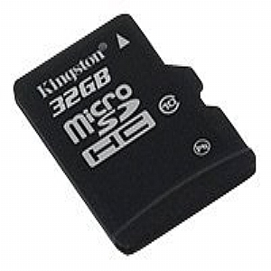 Kingston - flash memory card - 32 GB - mi