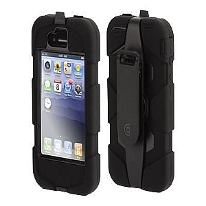 IPHONE(TM) 4 SURVIVOR and BELTCLIP (BLAC