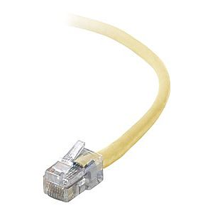 Belkin patch cable - 2 ft - yellow - B2B