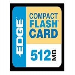 EDGE 512 MB CompactFlash Card
