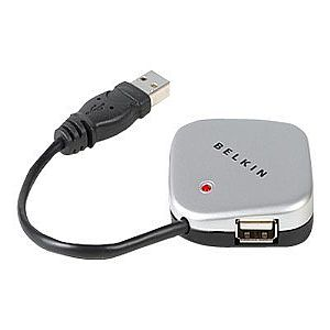 Belkin USB 2.0 4-Port Ultra Mini Hub