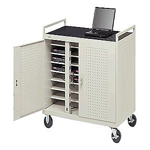 Bretford Laptop Storage and Recharge Cabinet