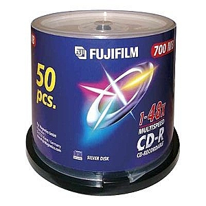 FUJIFILM - CD-R x 50 - 700 MB REFURB