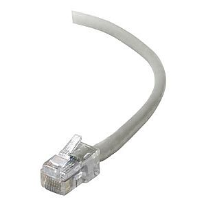 Belkin patch cable - 2 ft - gray - B2B