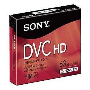Sony DVM 63HDR - High Definition - Mini DV tape