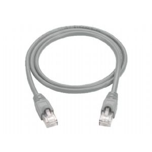 Black Box patch cable - 15 ft - gray