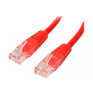StarTech.com 3 ft Red Cat5e / Cat 5 Molded Patch