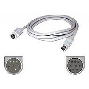 C2G serial extension cable - 6 ft