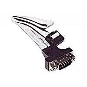 11IN SER I/O CABLE 10PIN-HEADER DB9M INT