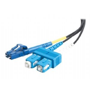 C2G 10m LC-SC 9/125 OS1 Duplex Single-Mode PVC