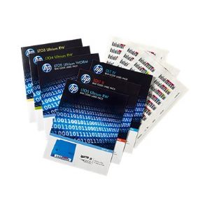 HPE Ultrium 4 RW Bar Code Label Pack - barcode