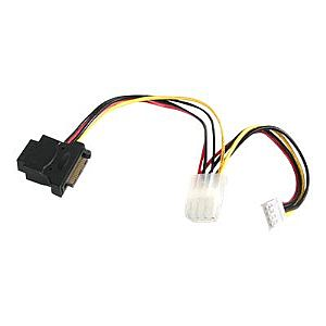StarTech.com LP4 to SATA Power Cable Adapter with