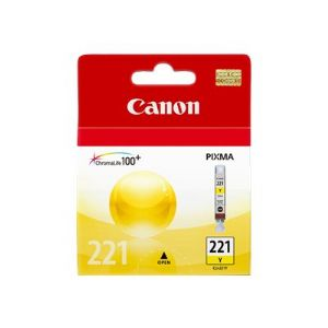 Canon CLI-221 - yellow - original - ink tank